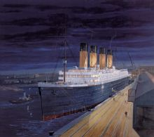 TITANIC Limited Edition Print - 'By Dawn's Early Light'